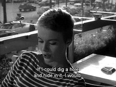 Jean Seberg ~ Breathless ~ À Bout de Souffle Jean Seberg, Find Quotes, Tv Quotes, Movie Quotes, Random Quotes, Film Aesthetic, Quote Aesthetic, Cinema Quotes, Movie Dialogues