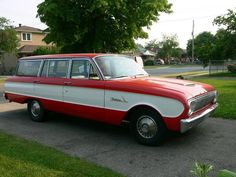 62 Ford Falcon Wagon