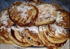 Najlepšie hrnčekové cesto na lievance: Potrebujete len 1 hrnček, 2 jablká a základné prísady - odporúčam zdvojnásobiť dávku! Pancakes, Breakfast, Fit, Basket, Morning Coffee, Shape, Pancake, Crepes