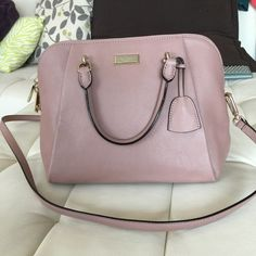 "Medium rosey beige Crossbody/tote Brand new beautiful leather bag! Color is ""Roseybeige"" can be used as a Crossbody or tote! Retails $355 kate spade Bags Crossbody Bags"