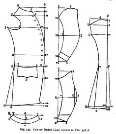 mens' pirate breeches pattern free | Here is a pattern for a Frock Coat.