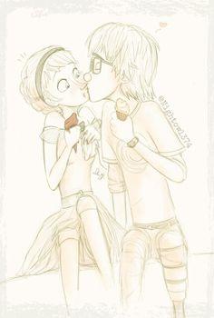 Hiccup & Elsa
