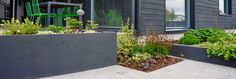 Nordic garden design, designed by Green Idea Studio Green, Garden Landscape Design, Outdoor Living Areas, Nordic Design, Helsinki, Home Interior Design, Service Design, Home Projects, Modern Architecture