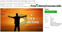 [Udemy #BlackFriday] Learn 4 truths that will change your #life   About This Course  Published 7/2013English  Course Description  Over 15 000 students on this course alone!  A no holds barred authentic down to earthfree inspirationalcourse teaching you ho