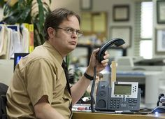 Dwight Schrute, The Office - TV Guide's Favorite TV Nerds