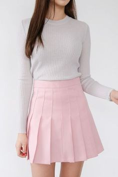 Piano Pleats Skirt   Korean Fashion