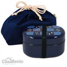 Boîte à Bento Urara bleue
