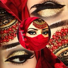 Amazing Arabic makeup