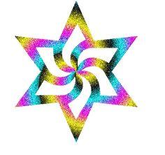 glitter animated star background | Glitter Graphics » Stars » Rainbow star