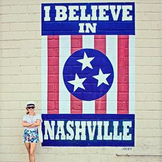 tart planning your itinerary with this weekend guide to Nashville! From the trendy hotels to the best BBQ, we're taking you on a tour of the town… I Believe In Nashville, Visit Nashville, Nashville Trip, Nashville Tennessee, Country Music Playlist, Nashville Murals, Enchanted Home, Way Of Life, Cool Walls