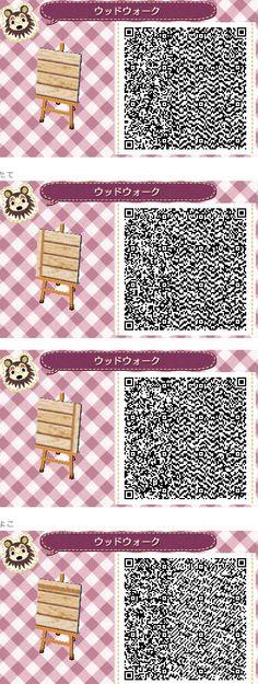 Animal Crossing: New Leaf QR Code Paths Pattern Friend code: 2165-8660-4412