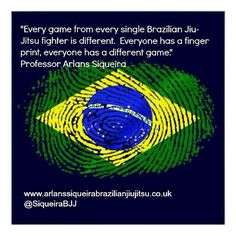 Everyone has a finger print, everyone has a different game. - Gracie Jiu-Jitsu BJJ Self Defence Blog by @hashtagbjj