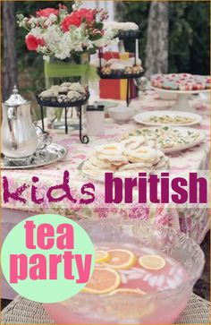 Brittish Tea Party: Decorate paper bowl hats with feathers and ribbon to celebrate a special occasion. Serve these fun dishes for a wonderful day with the kids. Girls Tea Party, Tea Party Theme, Princess Tea Party, Tea Party Birthday, Tea Parties, Tea Party For Kids, Birthday Ideas, British Party, Party Entertainment