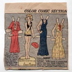 Vintage TOOTS & CASPER paper doll 1932 BUNNY/Jim Murphy   eBay
