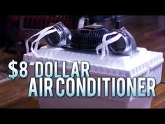 Man Builds A Homemade Air Conditioner For Just Over 8 Dollars