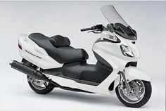 2009 Suzuki Other 2009 Burgman 650 Scooter - White please retweet