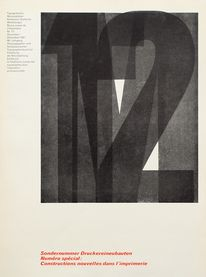 Cover from 1967 Typographische Monatsblätter issue 12
