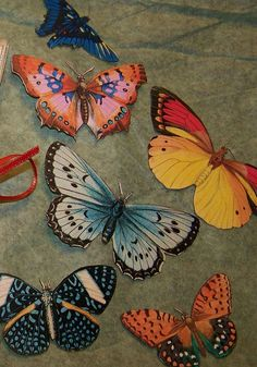Paper Butterflies on etsy