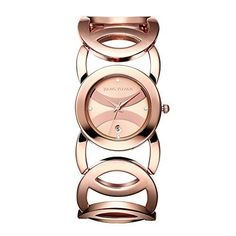 JIANGYUYAN Womens Luxury Crvstal Dial Stylish Rose Gold Wrist Watch *** Click image for more details.