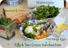 Lavender and Lovage | Celebrating Britain's Most Famous Snack – The Sandwich! Egg and Two Cress Sandwich Recipe | http://www.lavenderandlovage.com