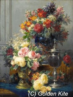 Spring Flowers with Chalices