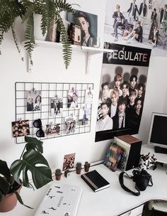 Decoration Room - Bright Idea - Home, Room, Furniture and Garden Design Ideas Room Ideas Bedroom, Diy Bedroom Decor, Nct Dream, Ideas Decorar Habitacion, Army Room Decor, Tumblr Rooms, Room Goals, Aesthetic Room Decor, Room Tour