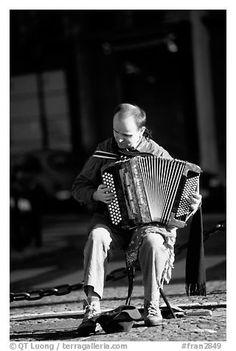 paris france black and white -
