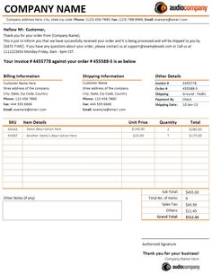 Purchase Order With Price List  Free Excel Templates