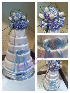 """We can help achieve this look at Dallas Foam with cake dummies, cupcake stands and cakeboards. Just use """"2015pinterest"""" as the item code and receive 10% off your first order @ www.dallas-foam.com. Like us on Facebook for more discount offers!"""