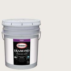 5 gal. #HDGWN48U Minimalist White Eggshell Interior Paint with Primer