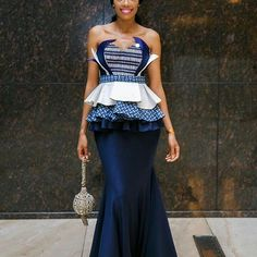 Check Out this Beautiful Ankara Styles off Shoulder - DeZango Fashion Zone
