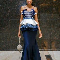 Check Out this Beautiful Ankara Styles off Shoulder - DeZango Fashion Zone