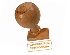 Suspendarea temporara firma