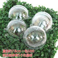 Декоративные ШАРМ прозрачные прозрачные прозрачные пластиковые мяч мяч хрустальный шар украшения творческий расположение Детский сад