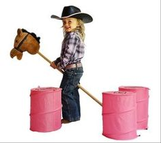 How to have a stick horse rodeo. Western party fun and games with a stick horse rodeo. Get instructions for patterns to set up. See pictures and video for other stick horse parties and events. Rodeo Party, Horse Racing Party, Horse Race Game, Horse Party, Cowgirl Party, Hobbies For Girls, Toys For Girls, Cheap Hobbies, Christmas Gifts For Girls