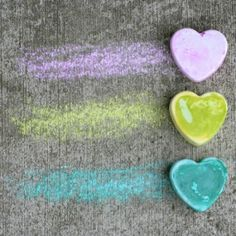 Read how to make your own vibrantly colored sidewalk chalk in any shape you choose!