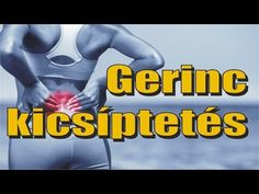 Gerinctorna gyakorlatsor a derékfájás, hátfájás ellen - YouTube Sciatica, Arthritis, Trx, Health Fitness, Medical, Yoga, Workout, Sports, Youtube