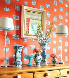 7 Best A Splash Of Wallpaper Images Home Decor Decor Wallpaper Images, Photos, Reviews