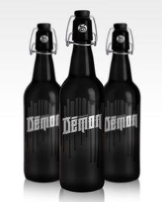 Soproni Black Demon por Csaba Bernáth #Rediseño