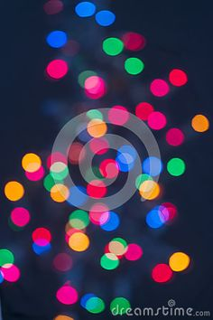 Christmas Lights In Distance - Download From Over 26 Million High Quality Stock Photos, Images, Vectors. Sign up for FREE today. Image: 27260866