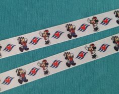 Nautical Girl Mouse Minnie 7/8 Grosgrain by PixieDustedStitches