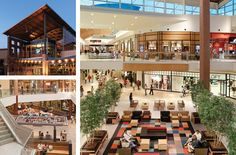 Northlake Mall:  150 stores & restaurants, including Apple, Brighton, Belk, AMC 14-screen cinema, Bravo! Cucina Italiana and Firebirds