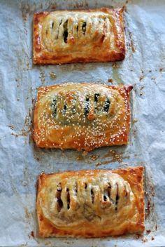 Puff Pastry Salmon Recipe with three different fillings - Salmone in crosta di pasta sfoglia con tre farce @vicaincucina