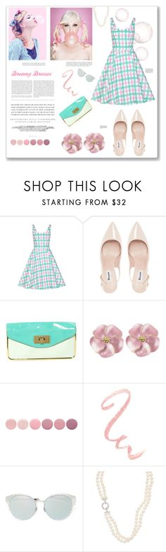 """Dreamy Dresses"" by artplusdesign ❤ liked on Polyvore featuring Collectif, Dune, Chloé, Kerr®, Matteo, Deborah Lippmann, Christian Dior, dresses, contestentry and dreamydresses"