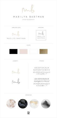 Branding: Marilyn Bartman Photography | Brand design by PURE Art & Design