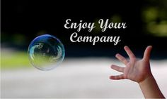 Enjoy Your Company - News - Bubblews