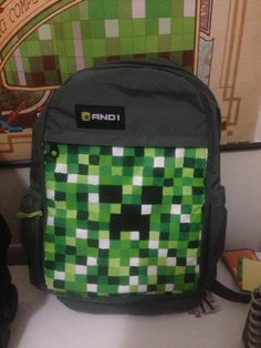 Minecraft Book Bags | Personalised Minecraft Large Childrens ...