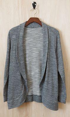 (http://www.shopconversationpieces.com/terry-sweatshirt-jacket-heather-gray/)