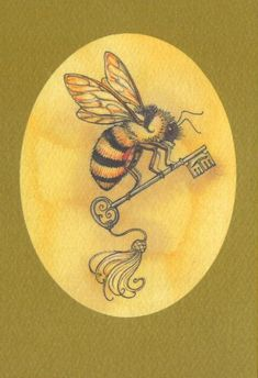 ≗ The Bee's Reverie ≗ Bee key.