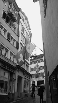 Niederdorf, zurich, switzerland